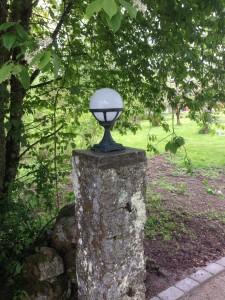 lampa markarbeten